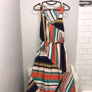 High low geometrical dress